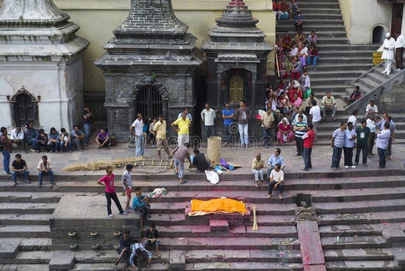 Hindi Funeral imagenes de archivo
