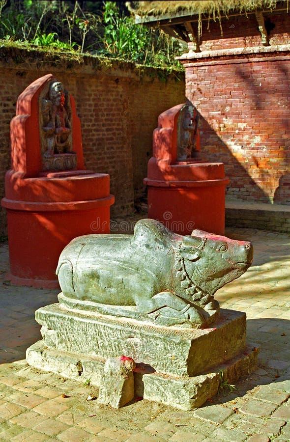Hindi temple, Gokarna Mahadev, Nepal. Hindi temple in Gokarna Mahadev, Nepal royalty free stock photos
