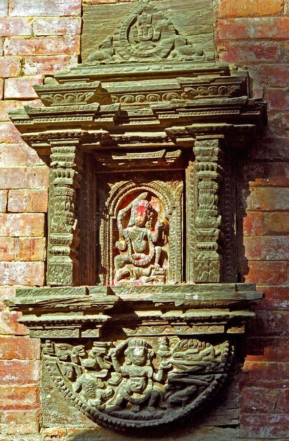 Hindi temple, Gokarna Mahadev, Nepal. Hindi temple in Gokarna Mahadev, Nepal royalty free stock photo