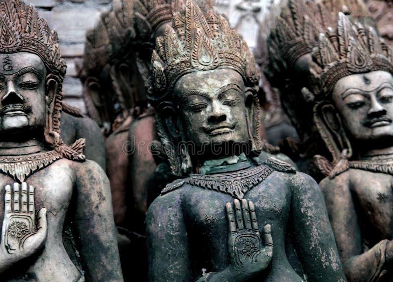 Hindische Gotthände lizenzfreies stockfoto