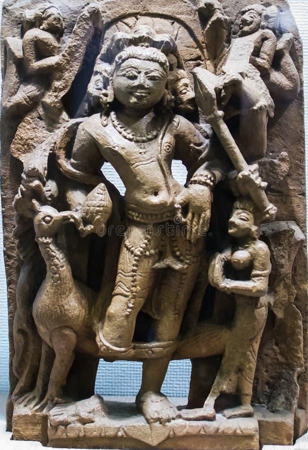 Hindische Gottheit Kartikeya lizenzfreies stockfoto