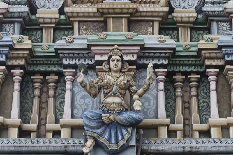 Hindischer kali Tempel in Trincomalee lizenzfreies stockbild