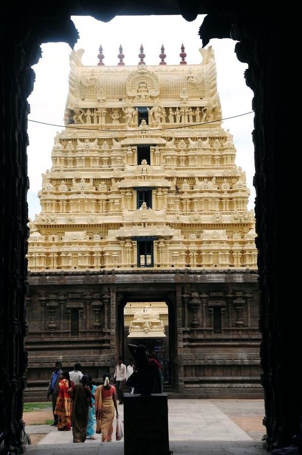 Hindischer Tempel stockbild