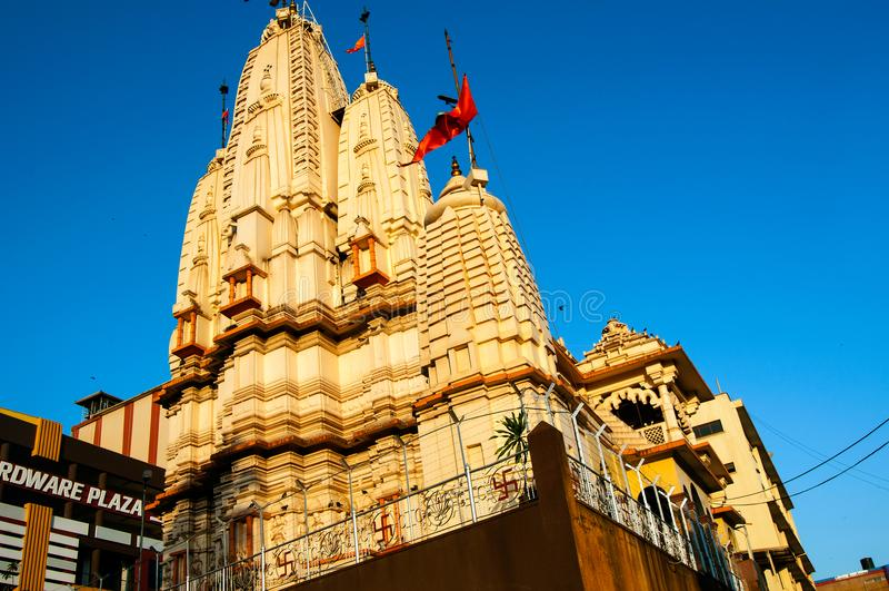 Hindischer Tempel in Kampala, Uganda stockbilder