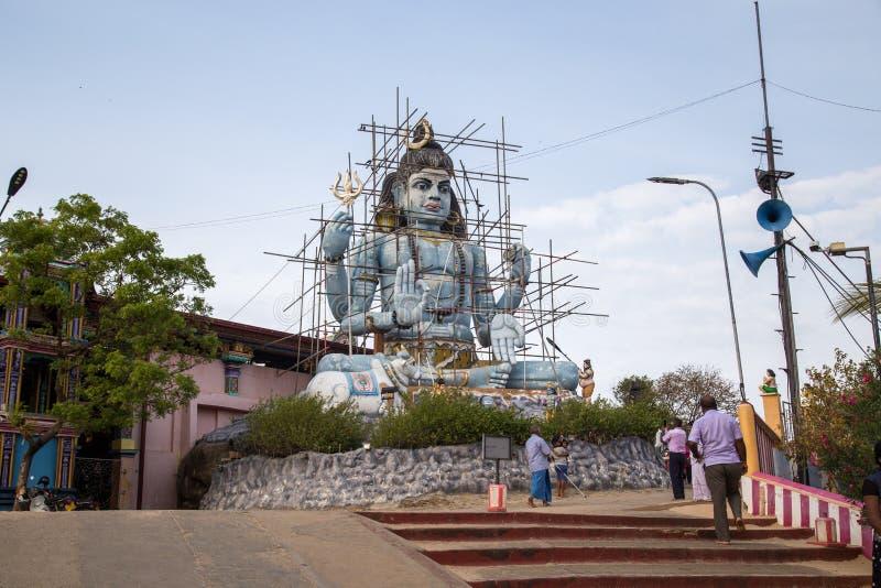 Hindischer Tempel Koneswaram in Trincomalee, Sri Lanka lizenzfreies stockbild