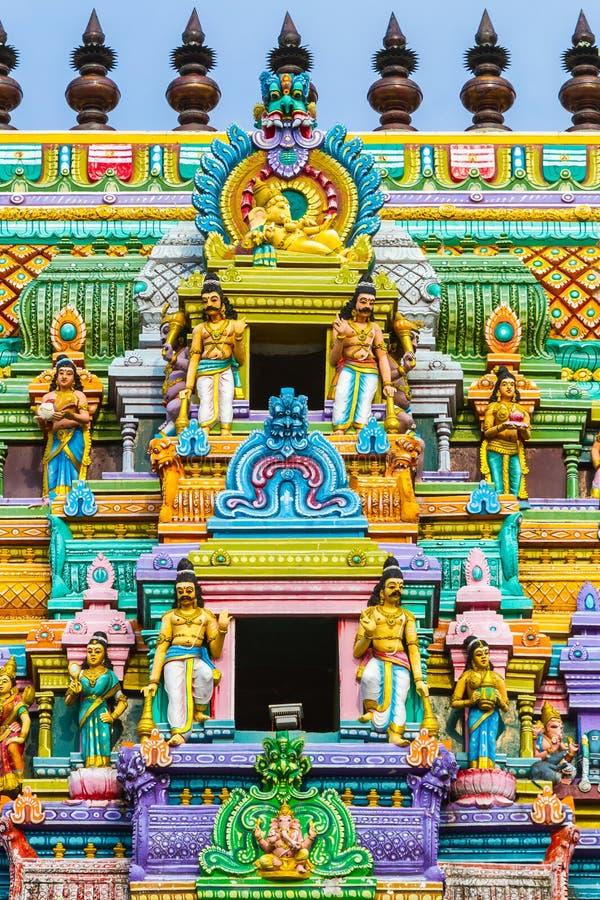 Hindischer Tempel Sri Lanka lizenzfreie stockfotografie