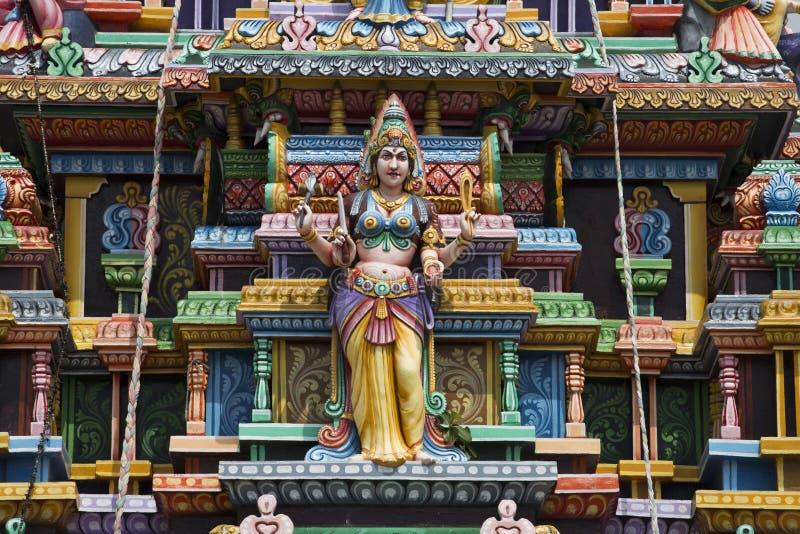 Hindischer Tempel in Trincomalee stockfotos