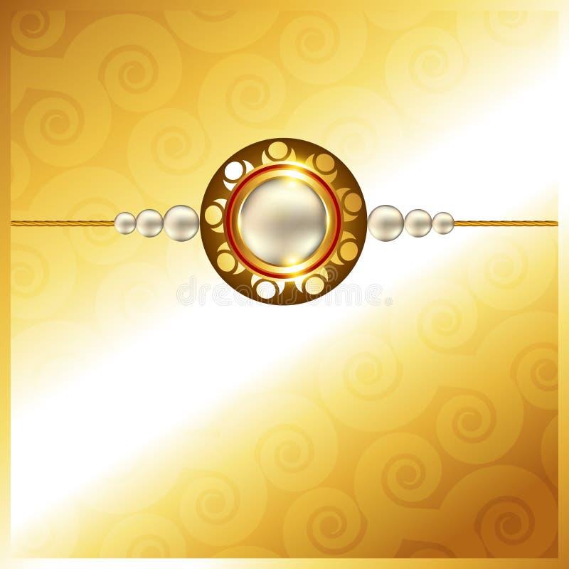 Hindoes rakshabandhan festival stock illustratie