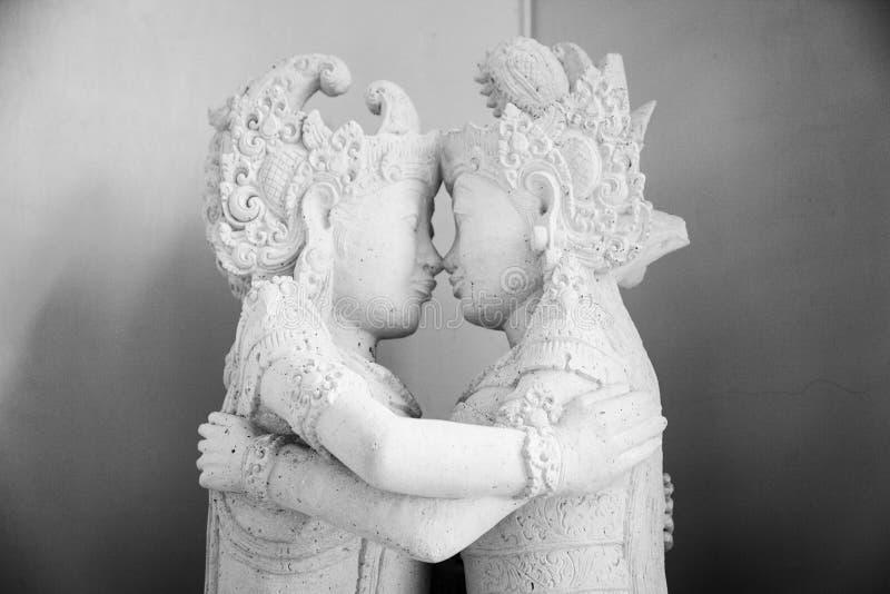 Hindoes Standbeeld stock afbeeldingen