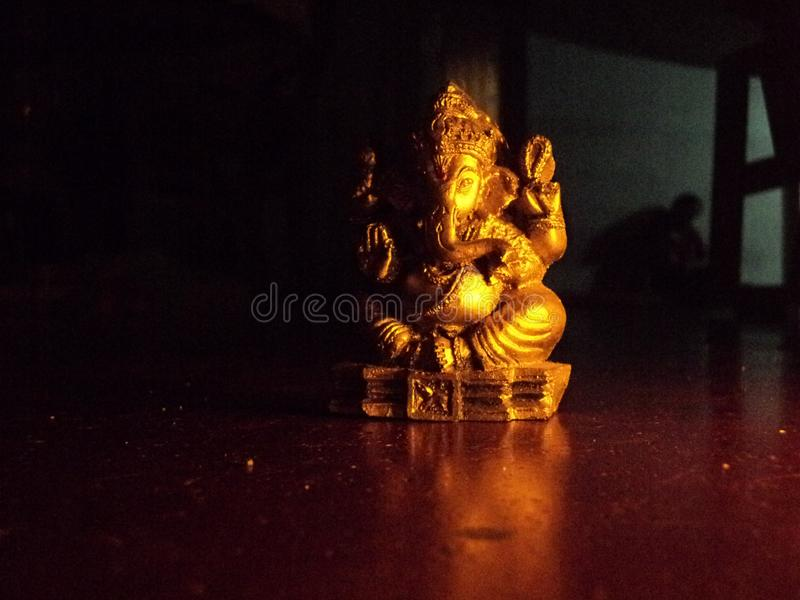 Hindoese God Ganesh royalty-vrije stock foto's