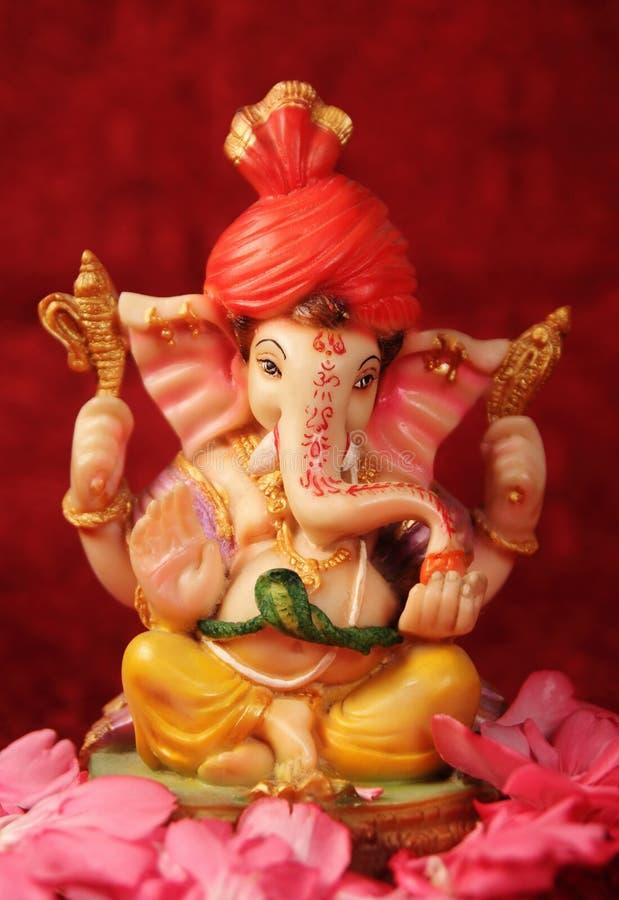 Hindoese God Ganesha royalty-vrije stock foto's