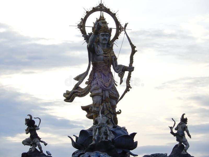 Hindoese god Rama stock fotografie
