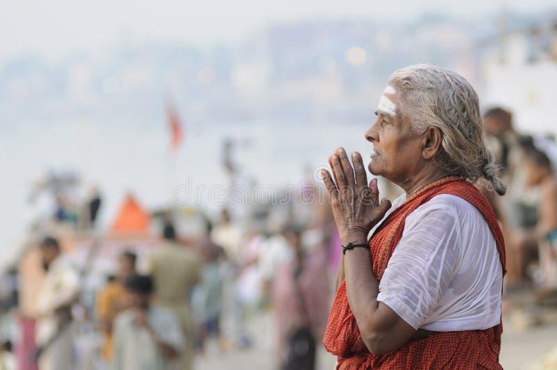 Hindoese Rituelen & Godsdienst. royalty-vrije stock afbeeldingen