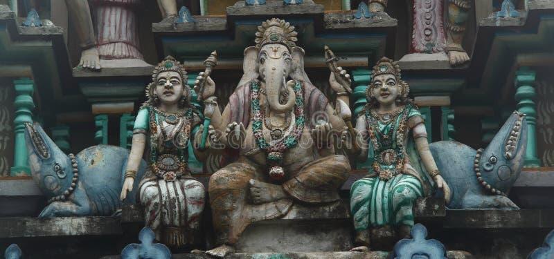 Hindoese standbeelden stock afbeeldingen