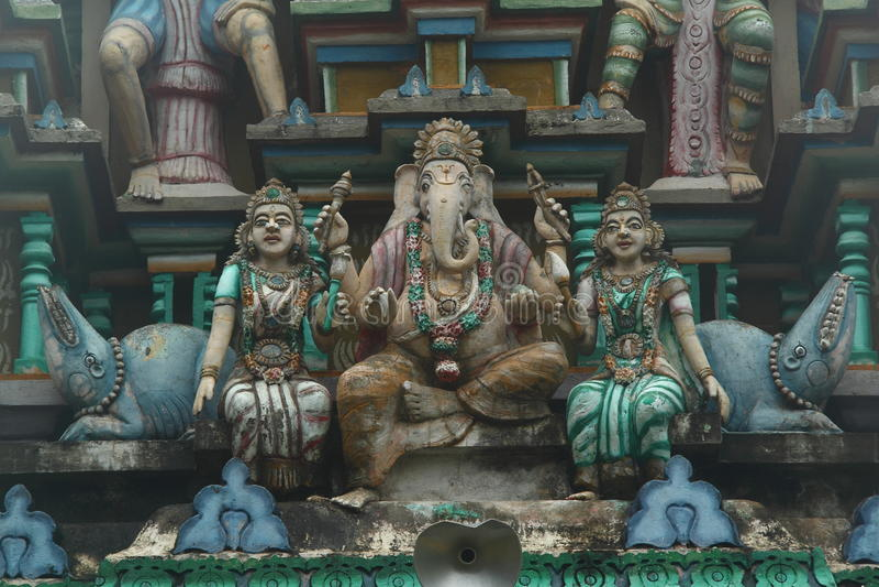 Hindoese standbeelden royalty-vrije stock foto