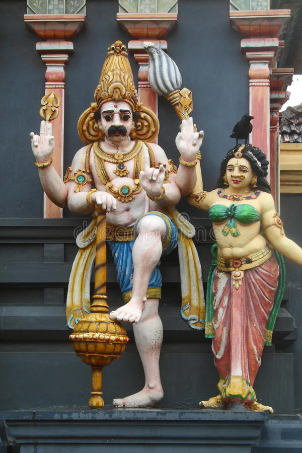 Hindoese standbeelden royalty-vrije stock fotografie