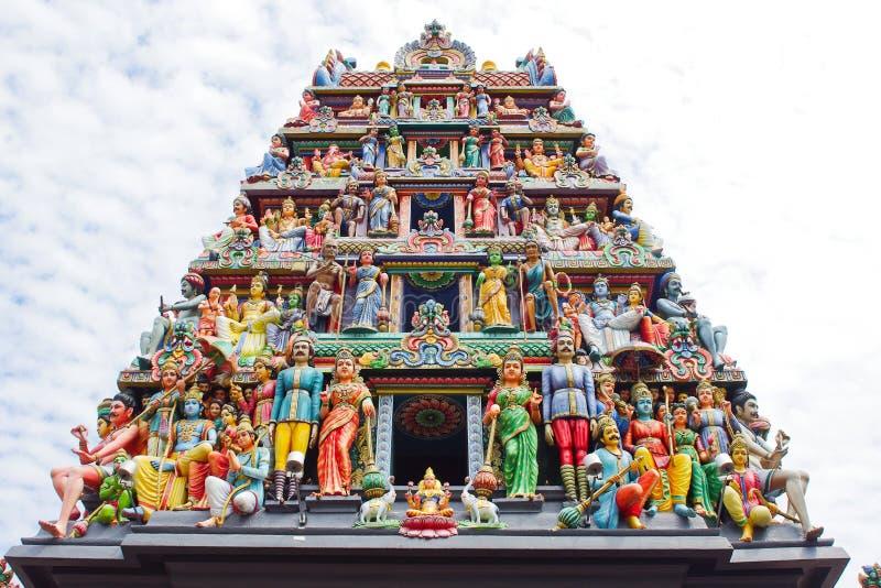 Hindoese tempel stock foto's