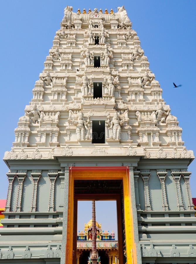 Hindoese tempel Balaji stock afbeelding