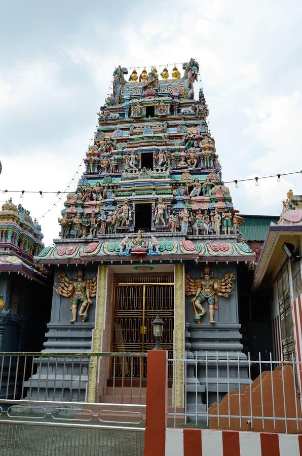 Hindoese tempel in Georgetown stock foto