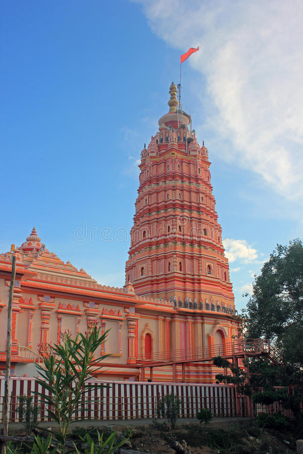 Hindoese Tempel gewijd aan Sri Panduranga, Tamilnadu, India stock fotografie