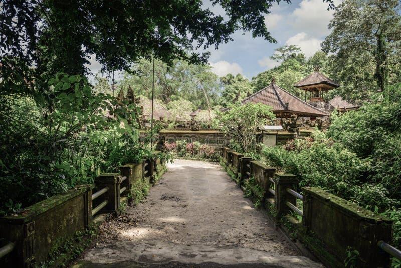 Hindoese Tempel Pura Gunung Lebah stock foto's