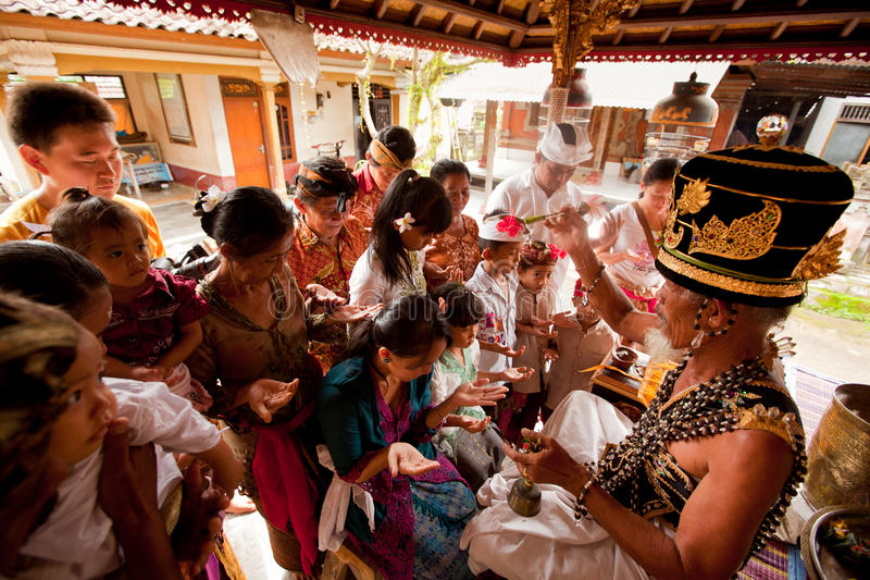 Download Hindu Brahmin During The Ceremonies Editorial Photography - Image: 24500892