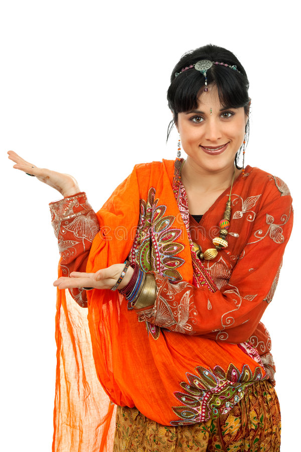 Free Hindu Dancer Stock Image - 8501011