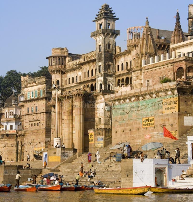 Hindu Ghats - Varanasi - India stock photo