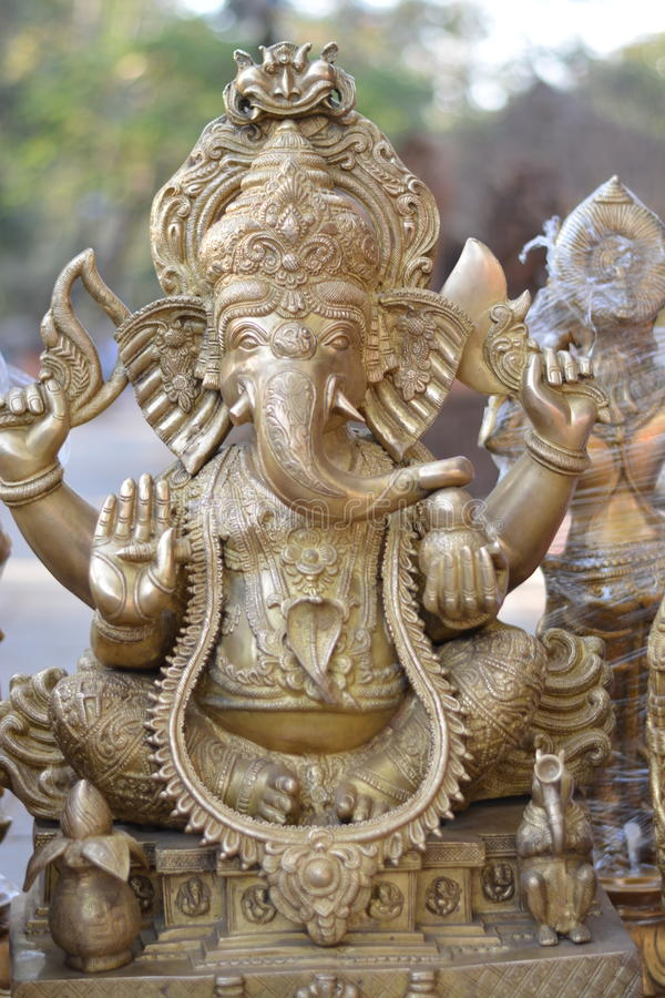 Hindu god ganesha stock photos