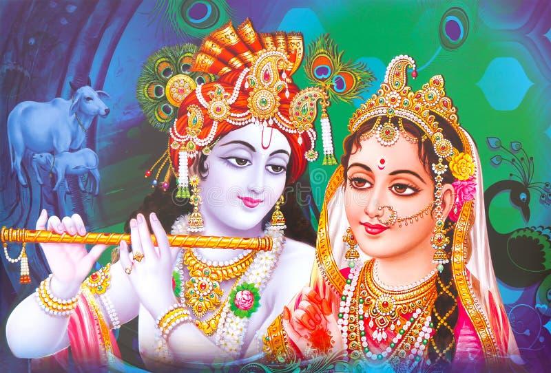 hindu god radha krishna wallpaper colorful background lord radha krishna beautiful wallpaper 163715161
