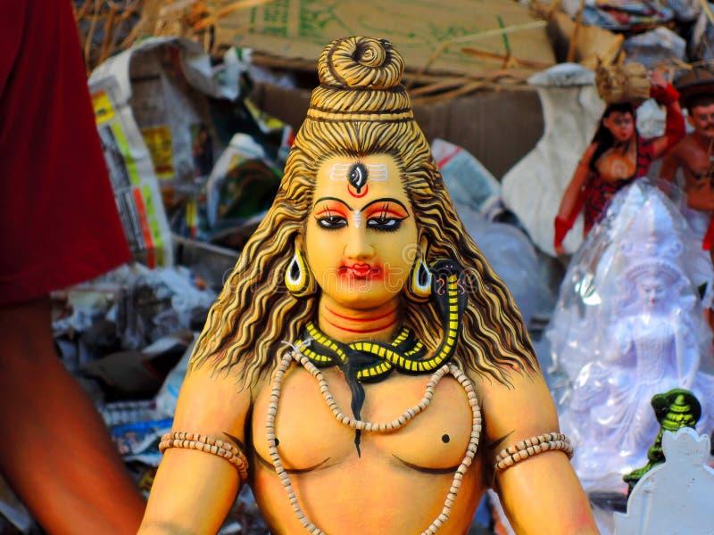 Hindu God - Shiva royalty free stock image