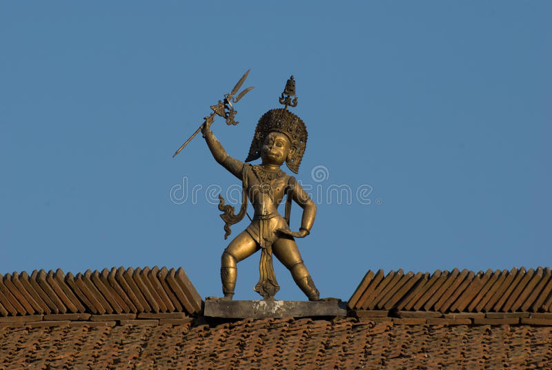 Hindu God Statue Stock Image