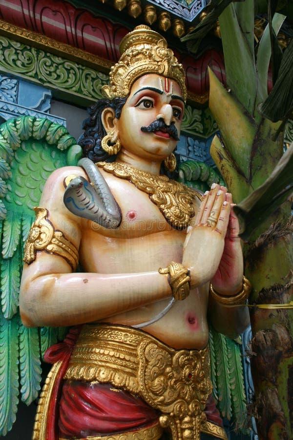 Hindu idol. Singapore, Southeast Asia royalty free stock photos
