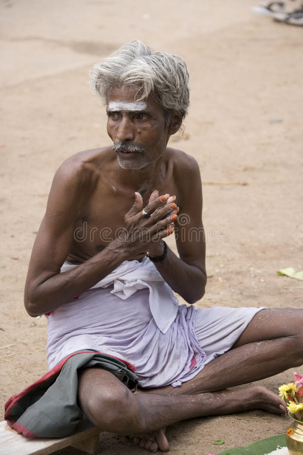 Download Hindu Man In Contemplation - India Editorial Photo - Image: 15239421