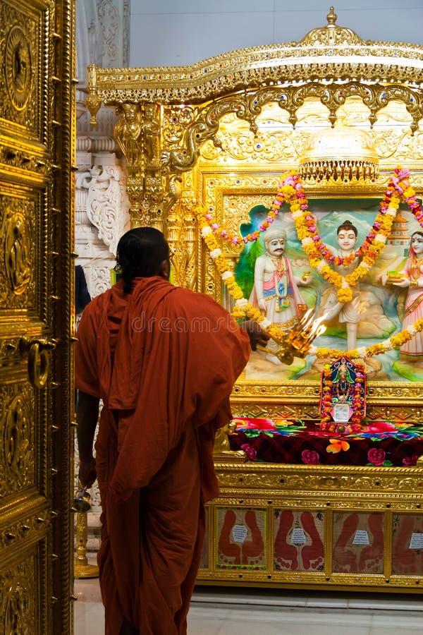 Download Hindu monk worshipping editorial image. Image of celebration - 27855135