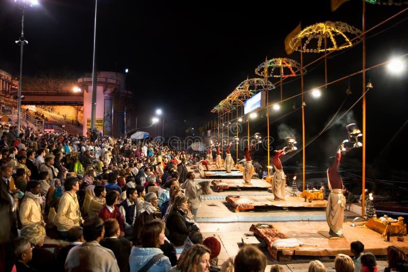 Hindu Priests Religious Ceremony Ganga Seva Nidhi Editorial Photo
