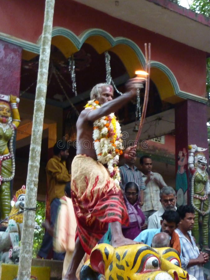 Download Hindu shaman editorial stock photo. Image of shiva, demon - 15525588