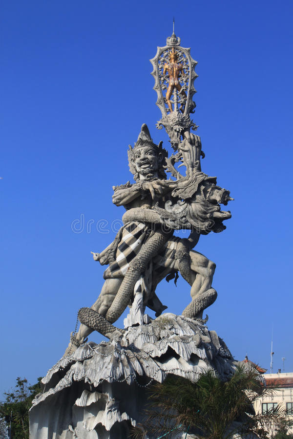 Download Hindu statue in Kuta stock image. Image of sunny, tropical - 27420275