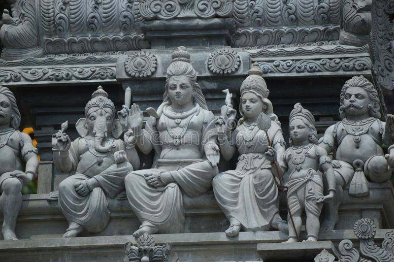 Hindu Deities Statue in Batu Caves Malaysia. Lumpur, india royalty free stock photo
