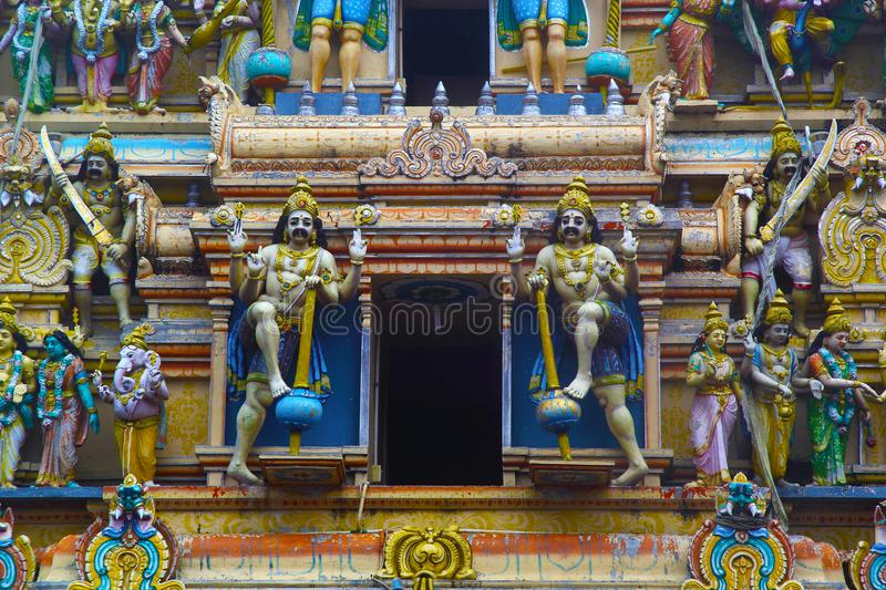 Hindu statues in Sri Lanka royalty free stock images