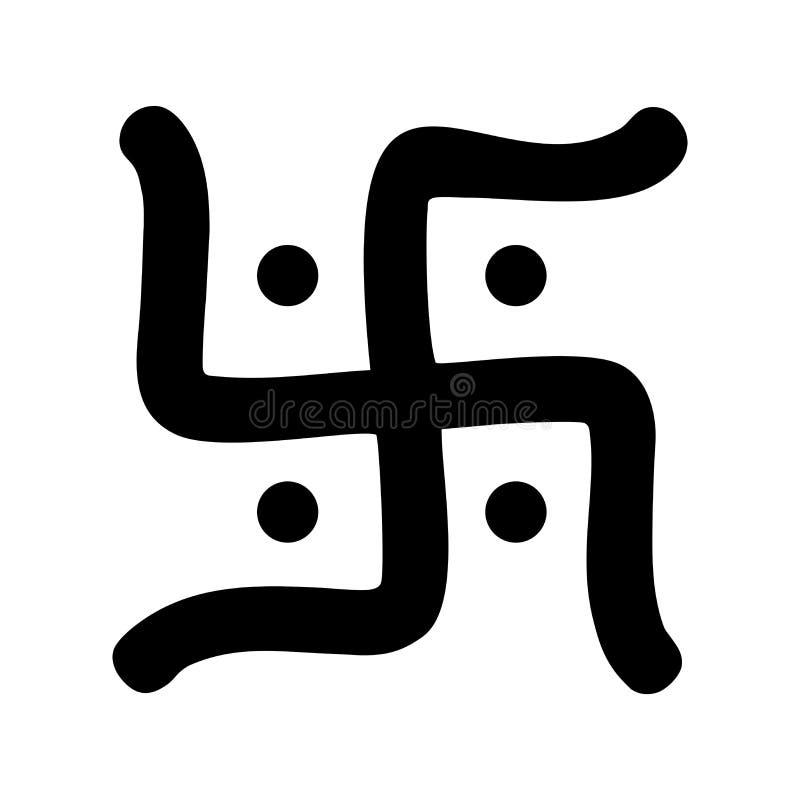 Hindu Swastika Symbol Stock Illustration Illustration Of Symbol