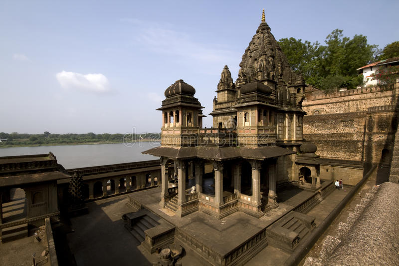 Ancient Indian Hindu Temple royalty free stock photo