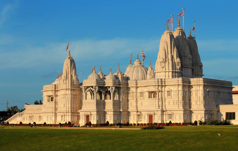 Hindu temple. Shri Swaminarayan Mandir, Toronto, Canada stock photo