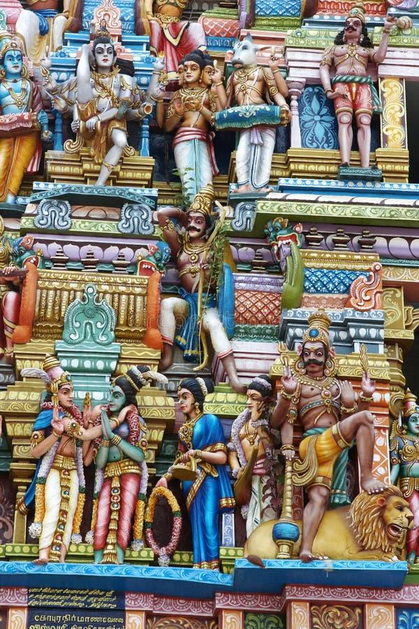 Hindu Temple. In Colombo, Sri Lanka stock photo