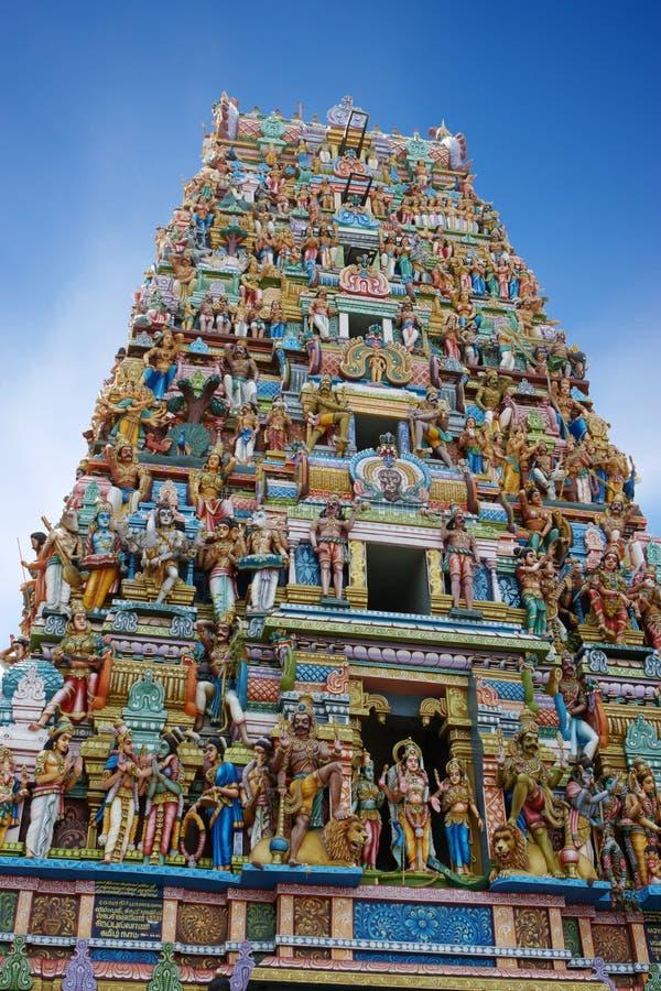 Hindu Temple. In Colombo, Sri Lanka royalty free stock image