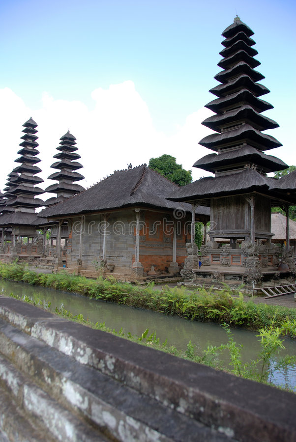 Hindu temple Bali royalty free stock photo