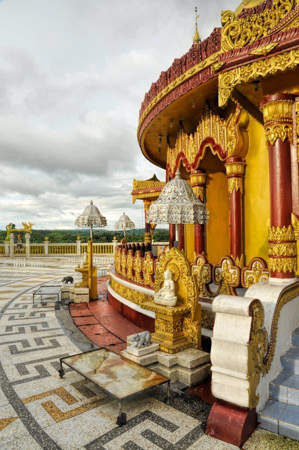 Hindu temple in Bangladesh. Hindu temple in Banderban district in Bangladesh royalty free stock photography