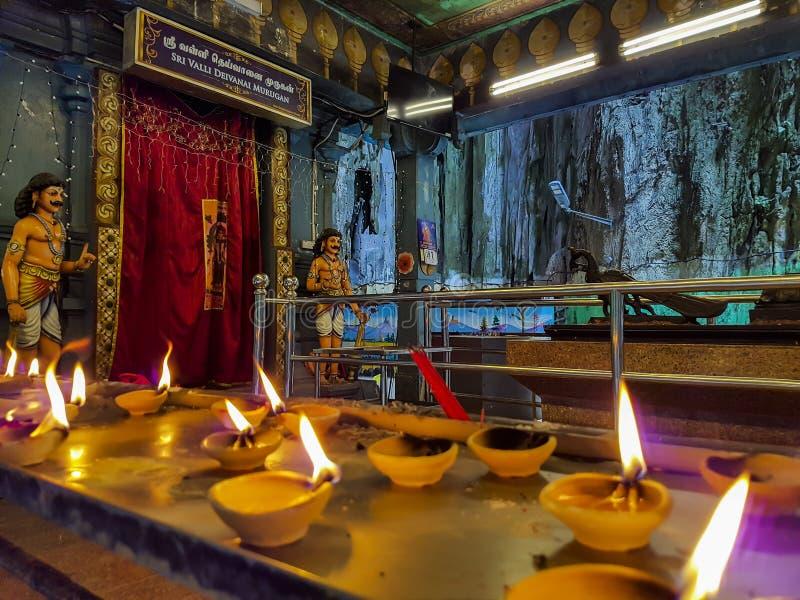 Hindu Temple in Batu Caves Kuala Lumpur royalty free stock photo