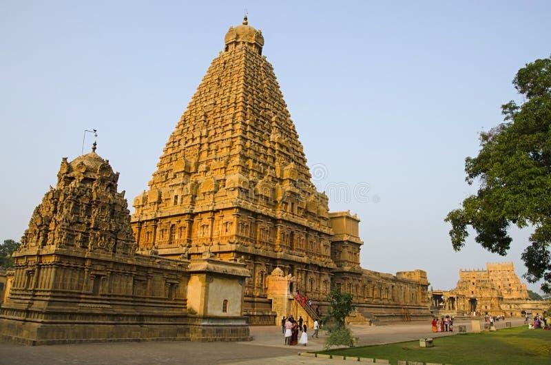 Brihadishvara Temple, Thanjavur, Tamil Nadu, India. Hindu temple dedicated to Lord Shiva. Hindu temple dedicated to Lord Shiva, it is an example of fully royalty free stock photos