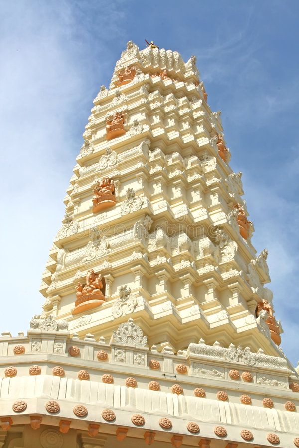 Download Hindu Temple Gleaming stock photo. Image of culture, cool - 7121626